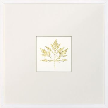 Picture of Gold Foil Leaf I