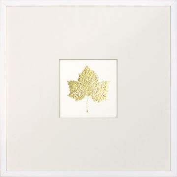 Picture of Gold Foil Leaf IV
