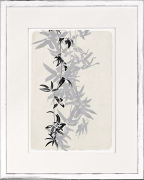 Picture of Botanical Overlay - Cream V - Small