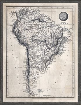 Picture of Map Arrowsmith, South America 1825