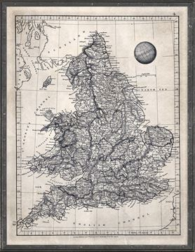 Picture of Map Arrowsmith, England 1825