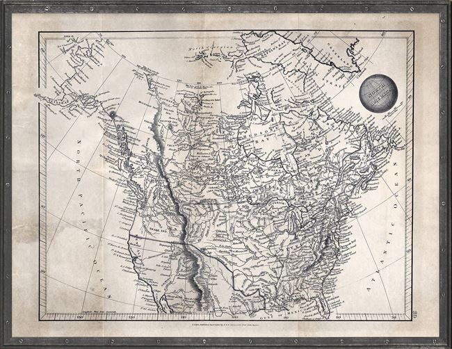 Picture of Map Arrowsmith, North America 1825