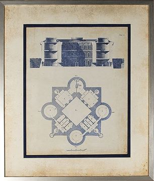 Picture of Architectural Blueprint I