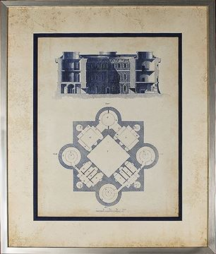 Picture of Architectural Blueprint II