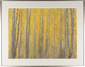 Picture of Birch Tree Study - Large