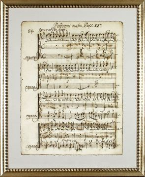 Picture of Latin Sheet Music - Pg 84