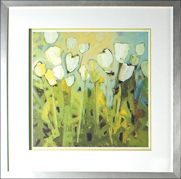 Picture of White Tulips I