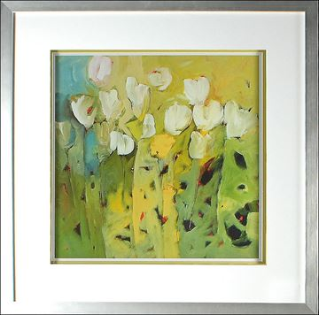Picture of White Tulips II