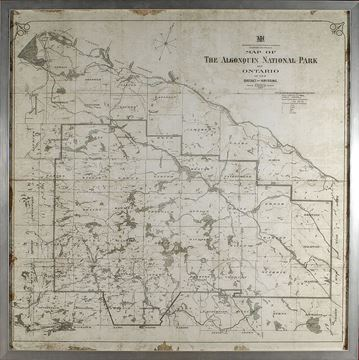 Picture of Map - Algonquin