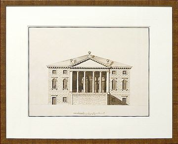 Picture of Italian Elevations 18Th Century II