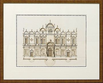 Picture of Italian Elevations 18Th Century V