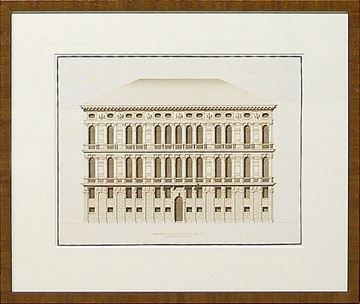 Picture of Italian Elevations 18Th Century VI