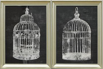 Picture of Vintage Cage S/2