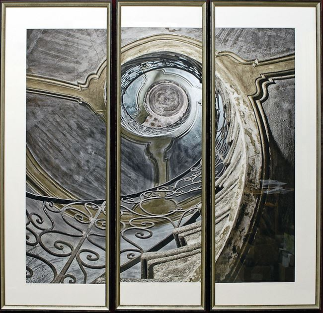 Picture of Ancient Spiral Triptych S/3 (A)