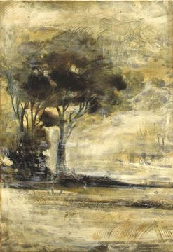 Picture of Toille Landscape I - Gallery Wrap Canvas