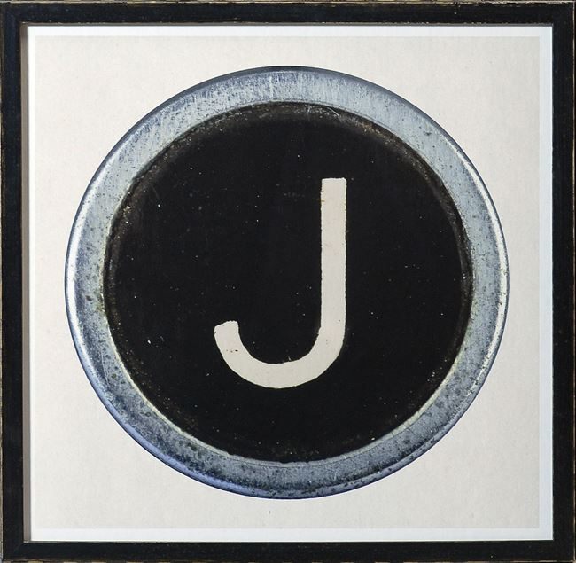 Picture of Type Key, J