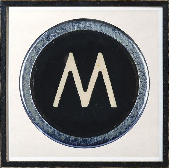Picture of Type Key, M
