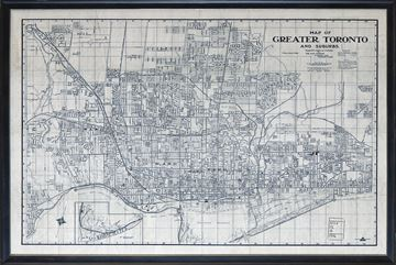 Picture of Map - Greater Toronto - 1916