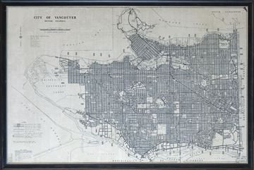 Picture of Map - City Of Vancouver - 1970