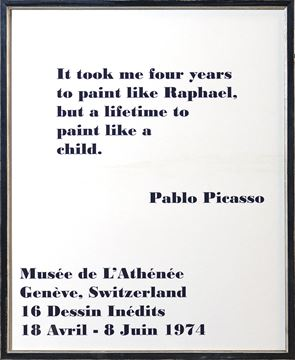 Picture of Exhibition, Poster - Picasso