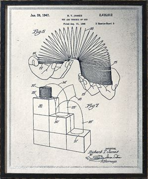 Picture of Slinky Patent - Parchment