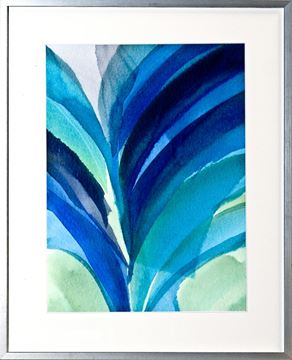 Picture of Big Blue Leaf II