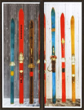 Picture of Vintage Ski Dyptych S/2