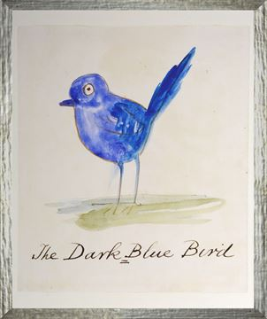 Picture of The Dark Blue Bird - Small