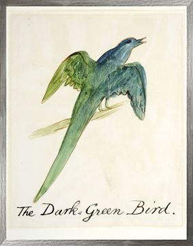 Picture of The Dark Green Bird - Large