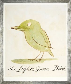 Picture of The Light Green Bird - Small