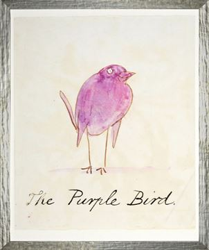 Picture of The Purple Bird - Small