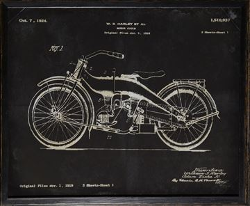 Picture of Harley Patent, 1924