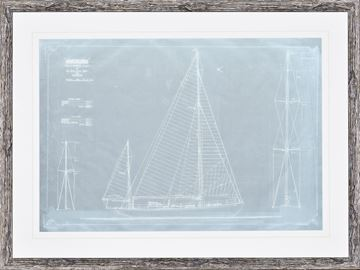 "Picture of ""Amokura"" - Sail & Rigging, Plan"