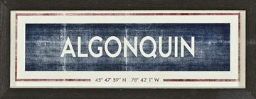 Picture of Sign - Algonquin
