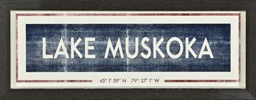 Picture of Sign - Lake Muskoka