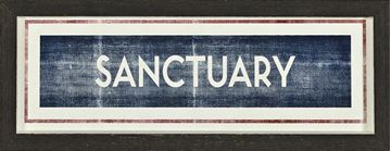 Picture of Sign - Sanctuary