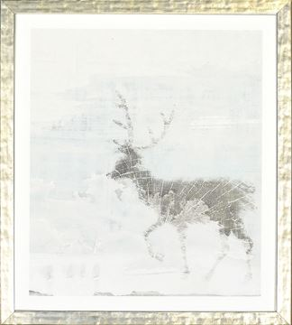 Picture of Deer Silhouettes - Taupe VI