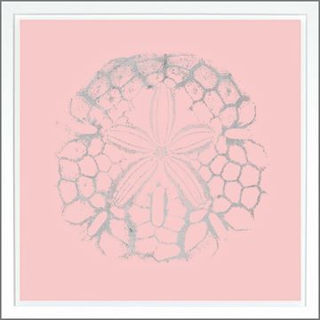 Picture of Sand Dollar Pink - Silver