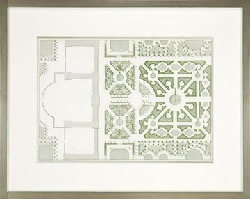 Picture of Courtly Garden Plan I