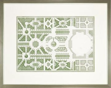 Picture of Courtly Garden Plan II