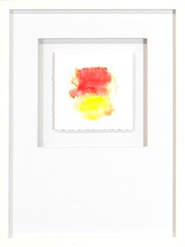 Picture of Watercolor Series - Magenta II (White)