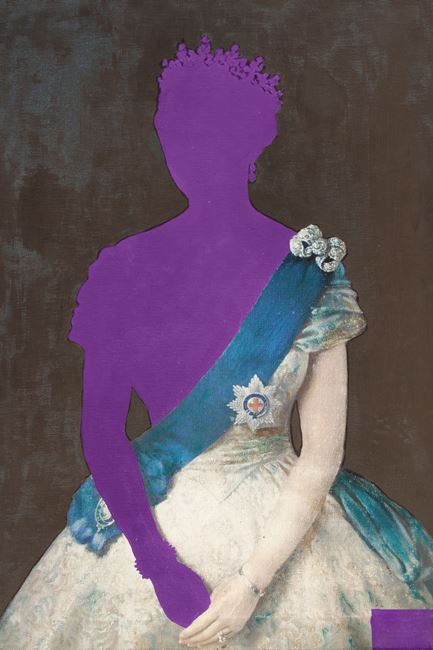 Picture of Purple Queen - Gallery Wrap Canvas