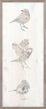 Picture of Vintage Map - Bird Panel I