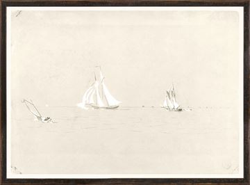 Picture of Collection 07 - Homer - Two Schooners - 1880