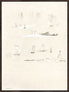 Picture of Collection 07 - Church - Study Of Schooners - 1850