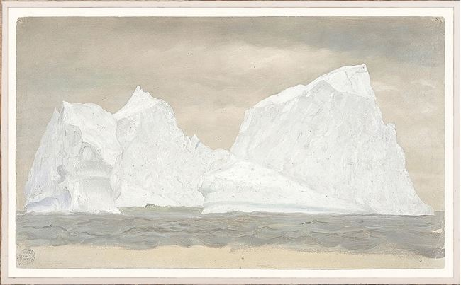 Picture of Collection 07 - Church - Floating Iceberg I - Labrador 1859