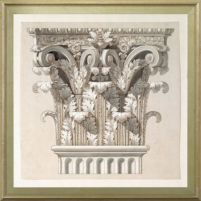 Picture of Curated - Corinthian Capital - 1798