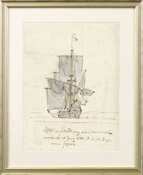 Picture of Curated - Sailing Vessel - 1778