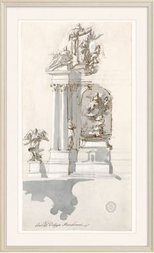 Picture of Curated - Design For An Altar - 1780-90