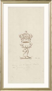 Picture of Curated - Stag And Crown Crest